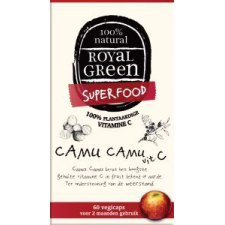 60 capsules Royal Green Camu Camu Vitamine C