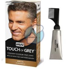 40 gram Just For Men Touch of Grey Bruin