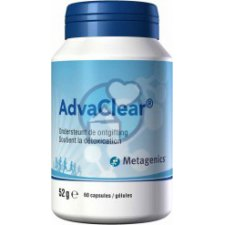 60 capsules Metagenics AdvaClear