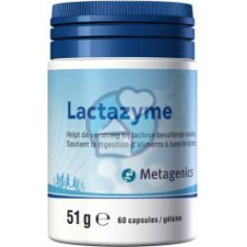 60 capsules Metagenics Lactazyme