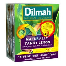 10 stuks Dilmah Naturally Tangy Lemon