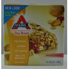 185 gram Atkins Day Break Almond Cranberry
