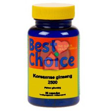 30 capsules Best Choice Koreaanse Ginseng