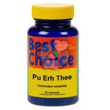 60 capsules Best Choice Pu Erh Thee