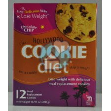 12 stuks Hollywood Cookie Diet Chocolate