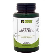 150 tabletten AOV Chlorella Complex 400mg
