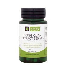 60 capsules AOV Dong Quai Extract 350mg