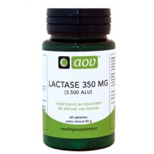 60 tabletten AOV Lactase 350mg
