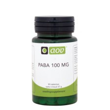 90 tabletten AOV PABA 100mg