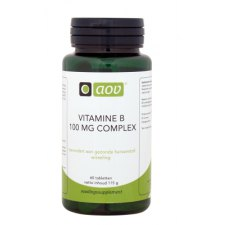 60 tabletten AOV Vitamine B 100mg Complex
