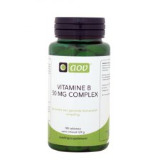 180 tabletten AOV Vitamine B 50mg Complex
