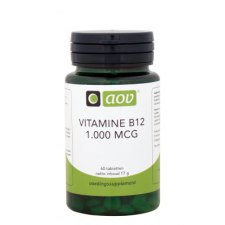 60 tabletten AOV Vitamine B12 1000mcg