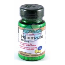250 tabletten Natures Bounty Foliumzuur 800mcg