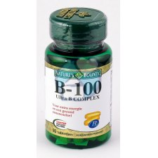 50 tabletten Natures Bounty B-100 Ultra B Complex