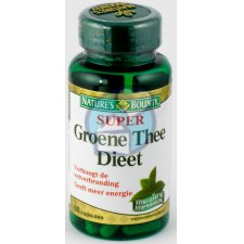60 capsules Natures Bounty Super Groene Thee Dieet
