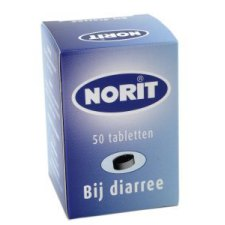50 tabletten Norit Norit 125mg