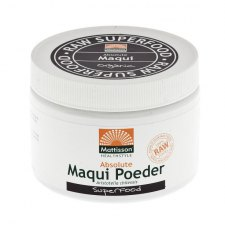 125 gram Mattisson Absolute Maqui Poeder Raw