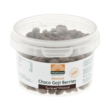 200 gram Mattisson Absolute Choco Goji Berries Raw