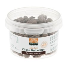 150 gram Mattisson Absolute Choco Mulberries Raw
