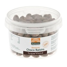 200 gram Mattisson Absolute Choco Raisins Organic