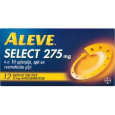 12 tabletten Aleve Select 275mg