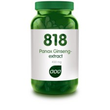 180 capsules AOV 818 Panax Ginseng Extract 450mg