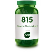 180 capsules AOV 815 Groene Thee Extract 250mg