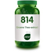 814 Groene Thee Extract 250mg AOV 60 capsules