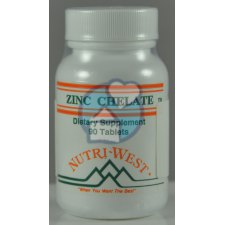 90 tabletten Nutri West Zinc-Chelate