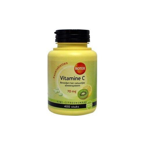 vitamine c 70mg kiwi citroensmaak roter 400 tabletten kopen gezondheid aan huis. Black Bedroom Furniture Sets. Home Design Ideas