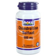 60 capsules NOW Foods Chondroitin Sulfate 600mg
