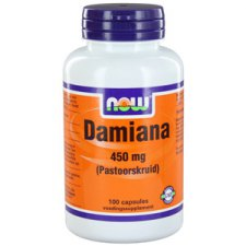 100 capsules NOW Foods Damiana 450mg
