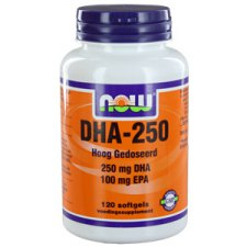 120 softgels NOW Foods DHA-250