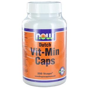 NOW Foods Dutch Vit Min 250 capsules