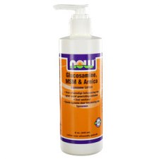240 ml NOW Foods Glucosamine MSM Arnica Liposome Lotion