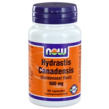 50 capsules NOW Foods Hydrastis Canadensis 500mg