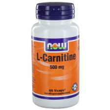 60 capsules NOW Foods L-Carnitine 500mg