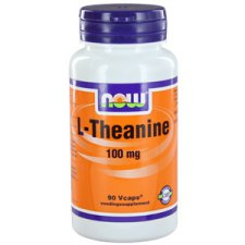 90 capsules NOW Foods L-Theanine en Groene Thee
