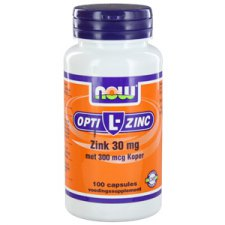 100 capsules NOW Foods Opti L-Zinc 30mg