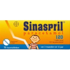 16 tabletten Bayer Sinaspril 120mg