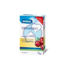 40 tabletten Bional Cranberry