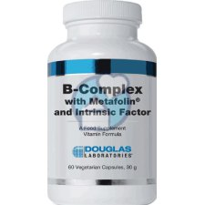 60 capsules Douglas Laboratories B-Complex with Metafolin and Intrinsic Factor