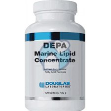 100 softgels Douglas Laboratories DEPA Marine Lipid Concentrate