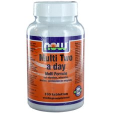 180 tabletten NOW Foods Multi Two a Day