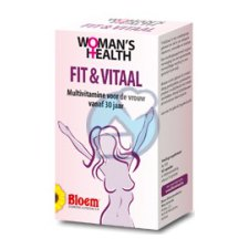 60 capsules Bloem Womans Health Fit Vitaal