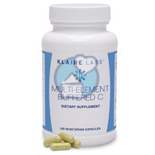100 capsules Klaire Labs Multi-Element Buffered C