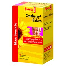 60 tabletten Bloem Cranberry+ Balans
