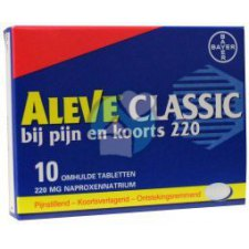 10 tabletten Aleve Classic