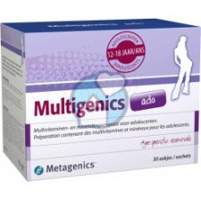 30 sachets Metagenics Multigenics Ado