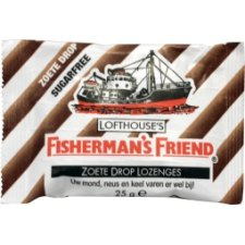 25 gram Fisherman's Friend Drop Suikervrij
